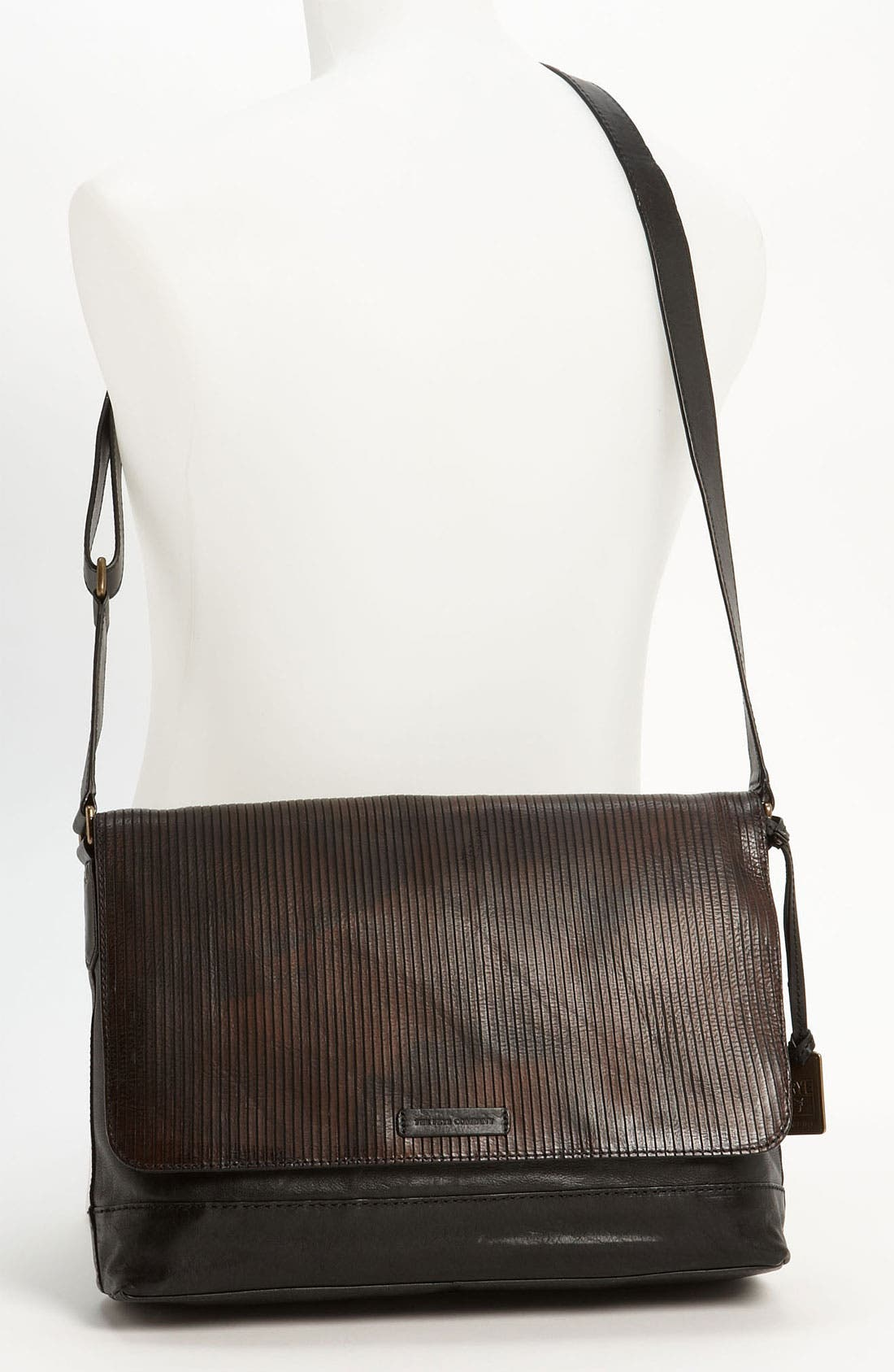 Alternate Image 4  - Frye 'James' Leather Messenger Bag