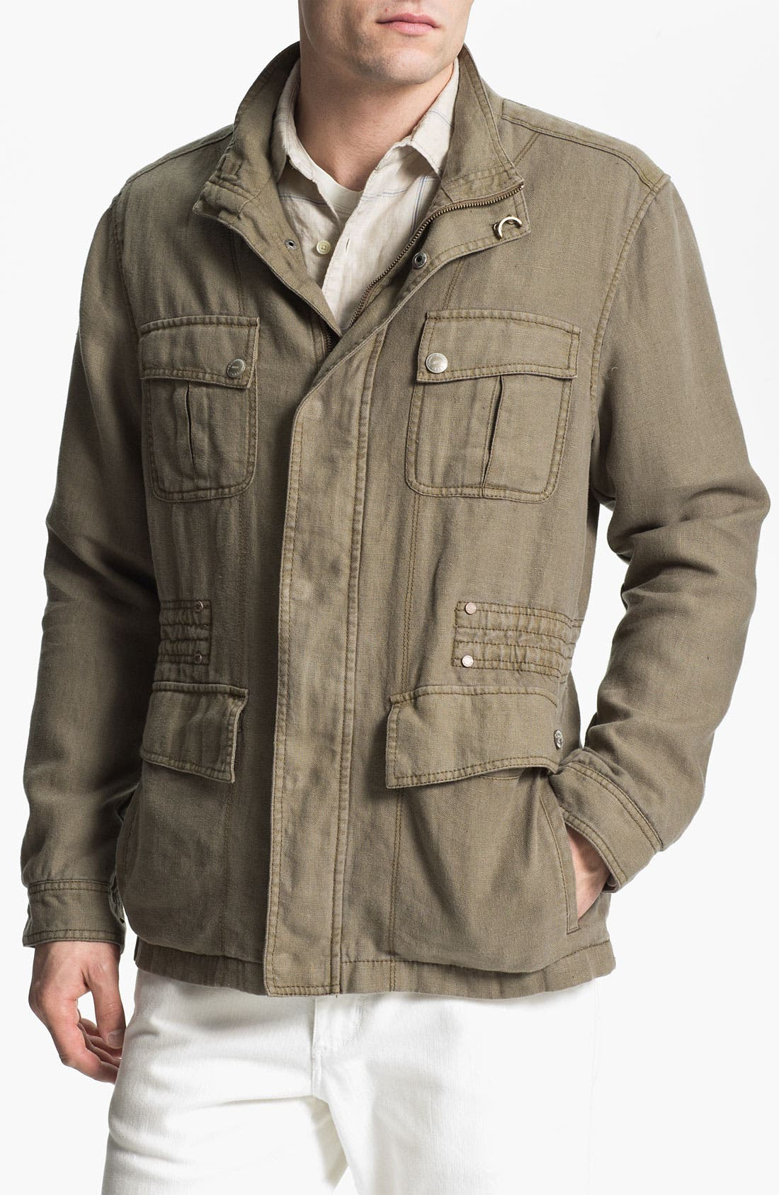 Alternate Image 1 Selected - Tommy Bahama Denim 'Baja' Anorak