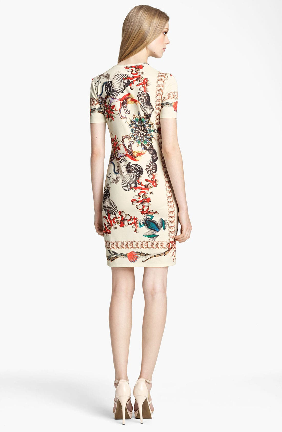 Alternate Image 2  - Roberto Cavalli Print Jersey T-Shirt Dress