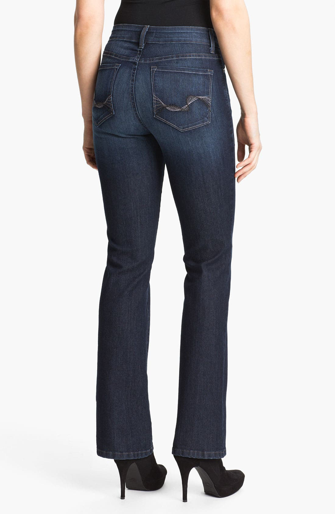 Alternate Image 2  - NYDJ 'Barbara' Embellished Bootcut Jeans