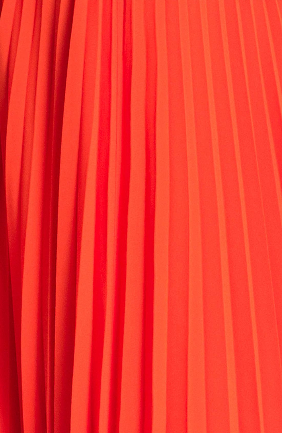 Alternate Image 3  - MICHAEL Michael Kors Pleated Chiffon Tank Dress