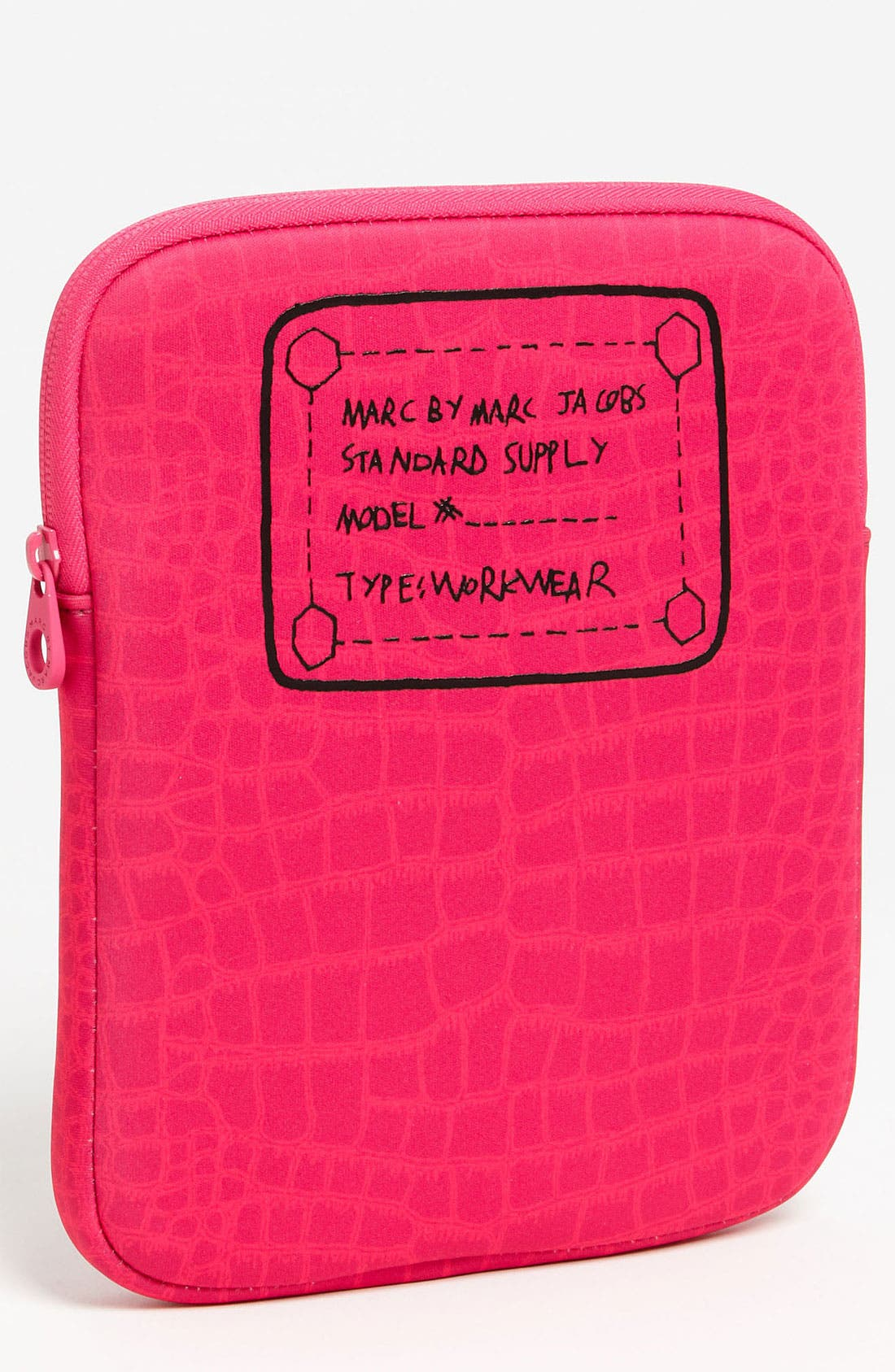 Alternate Image 1 Selected - MARC BY MARC JACOBS 'Trompe l'Oeil' Croc Print Tablet Sleeve