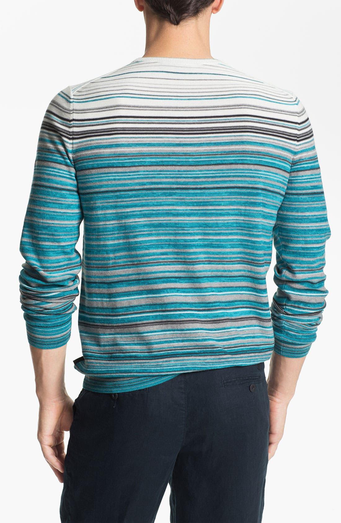 Alternate Image 2  - BOSS Black 'Gunar' Crewneck Sweater
