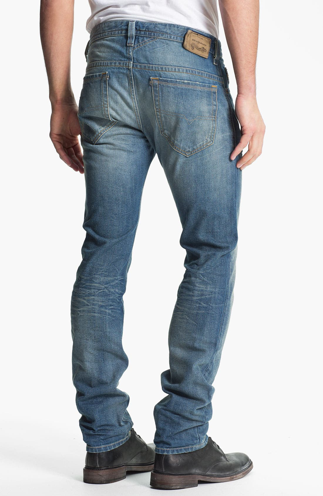 Main Image - DIESEL® 'Thavar' Slim Straight Leg Jeans (0806P)