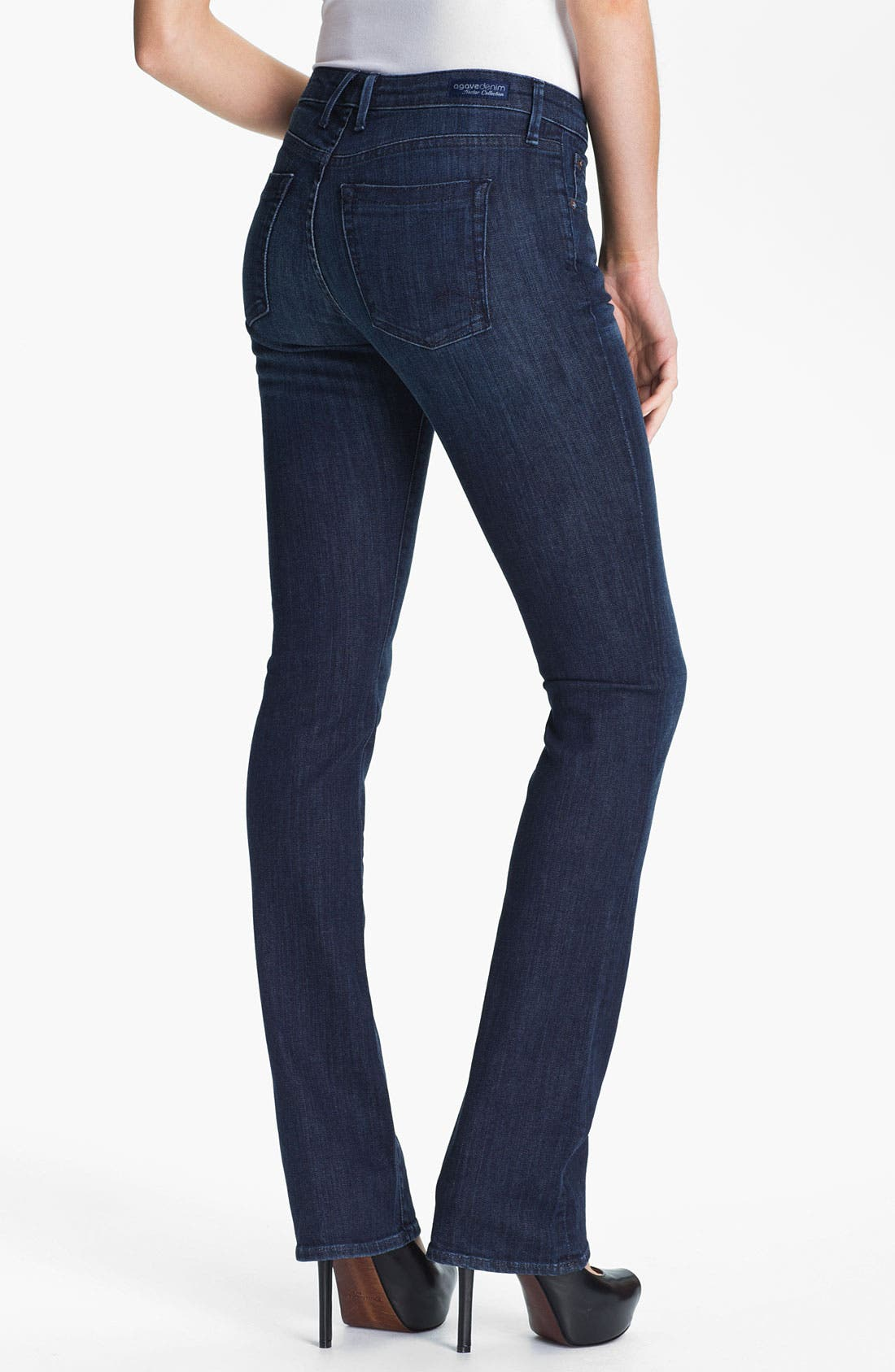 Alternate Image 2  - Agave 'Linea' Slim Bootcut Jeans (Norte) (Online Exclusive)