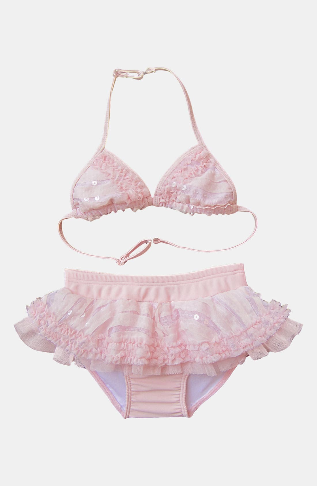 Main Image - Isobella & Chloe Two Piece Swimsuit (Little Girls)