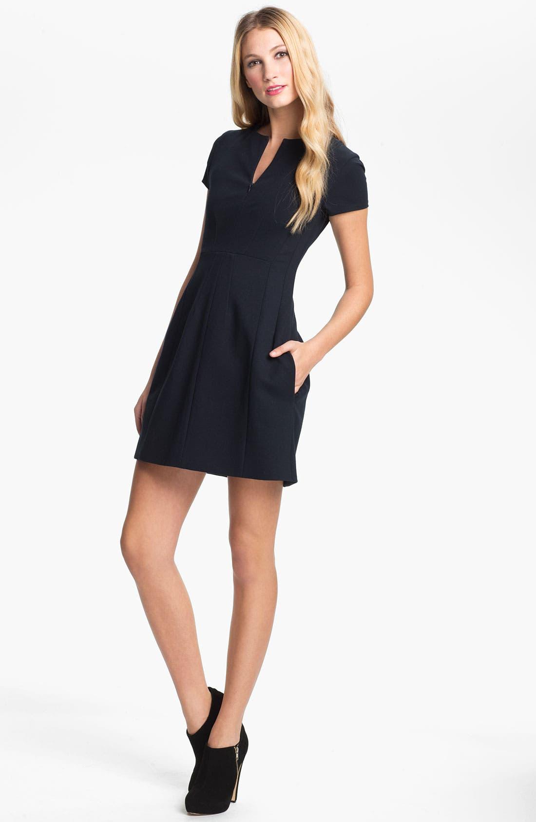 Main Image - Diane von Furstenberg 'Agatha' Knit Sheath Dress