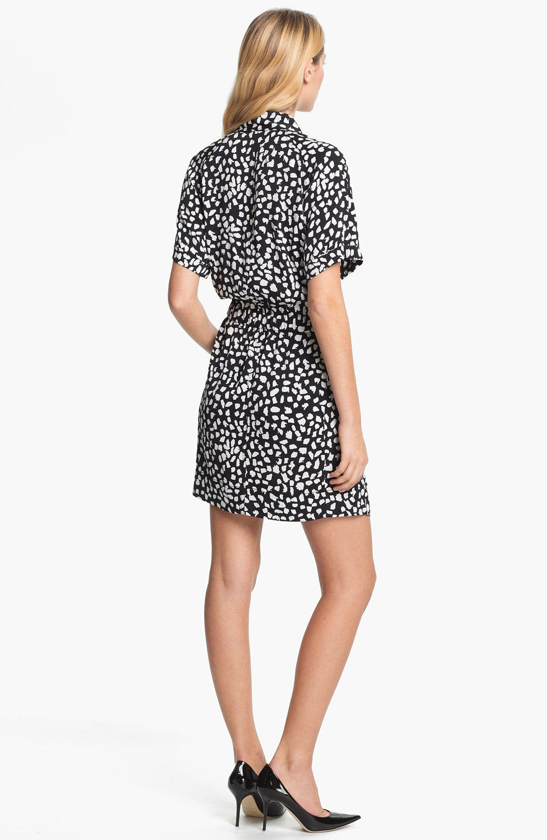 Alternate Image 2  - Diane von Furstenberg 'Pharo' Stretch Silk Shirtdress