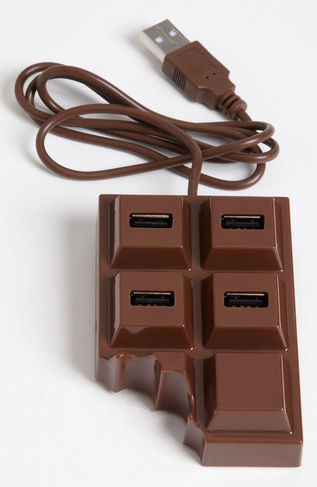 Alternate Image 1 Selected - Kikkerland Design 'Chocolate' USB Hub