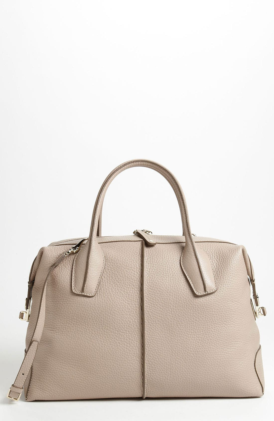 Alternate Image 1 Selected - Tod's 'D-Styling - Medium' Leather Shopper