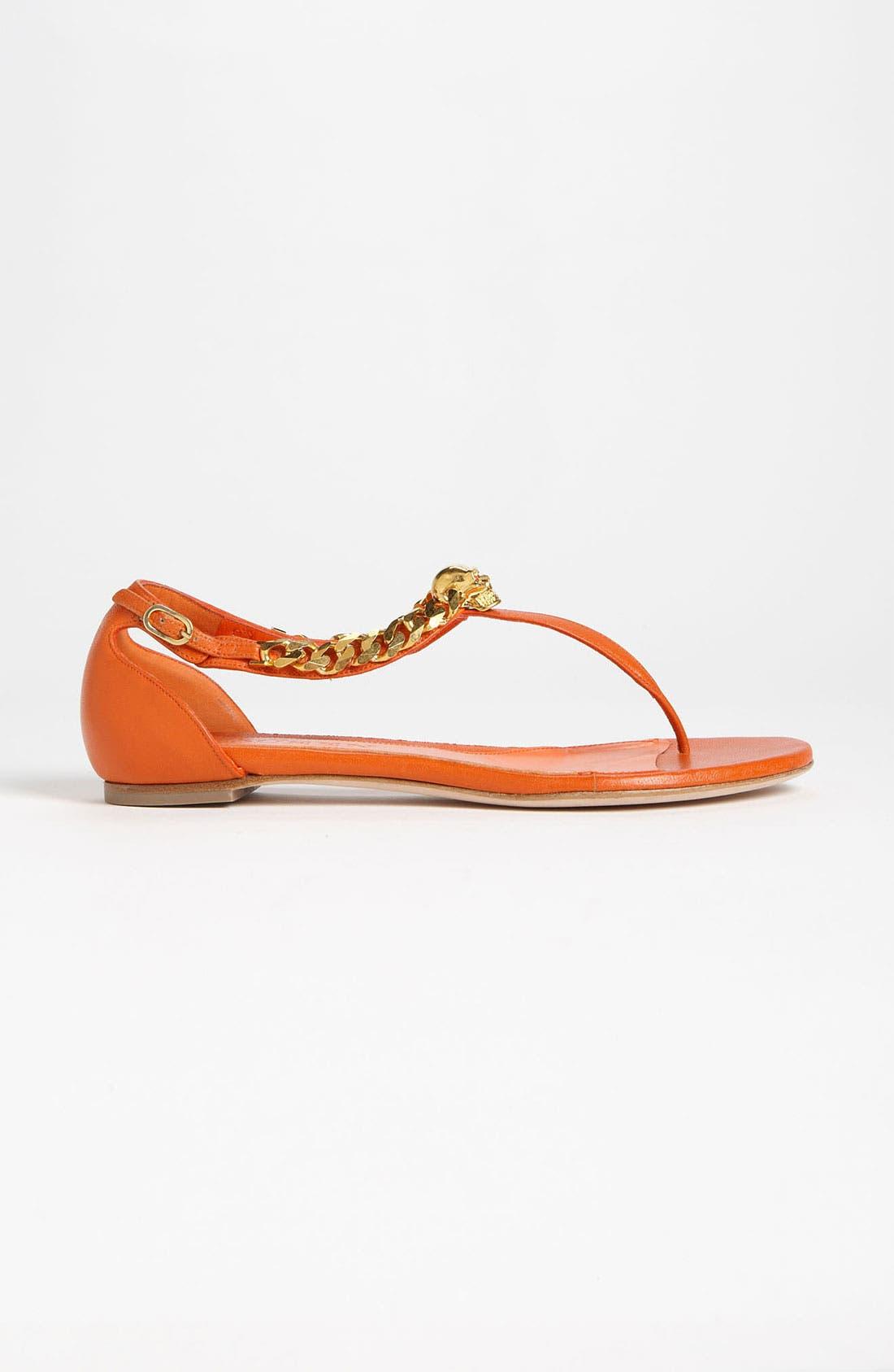 Alternate Image 4  - Alexander McQueen Flat Sandal