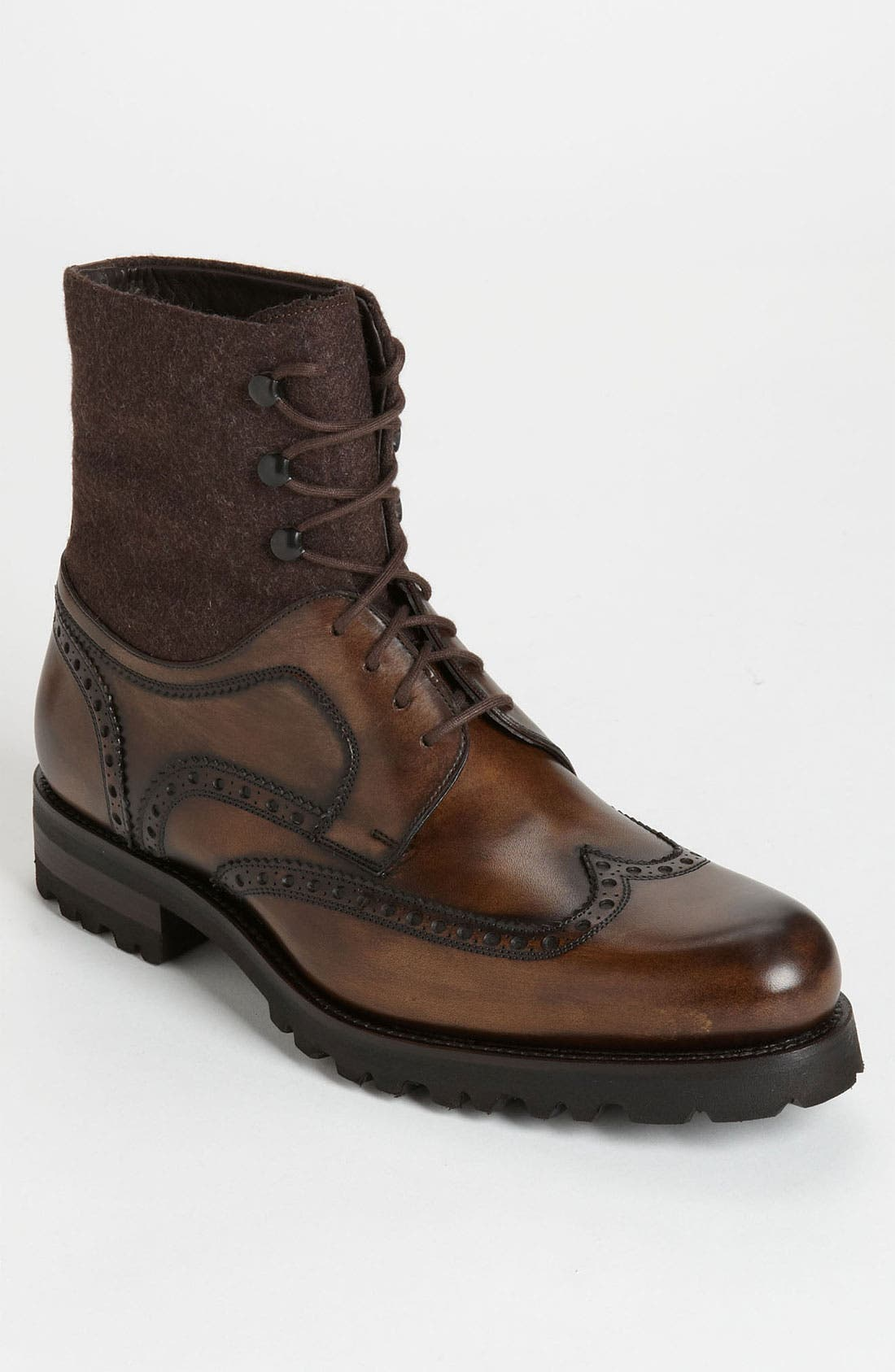 Main Image - Magnanni 'Anton' Wingtip Boot (Online Only)