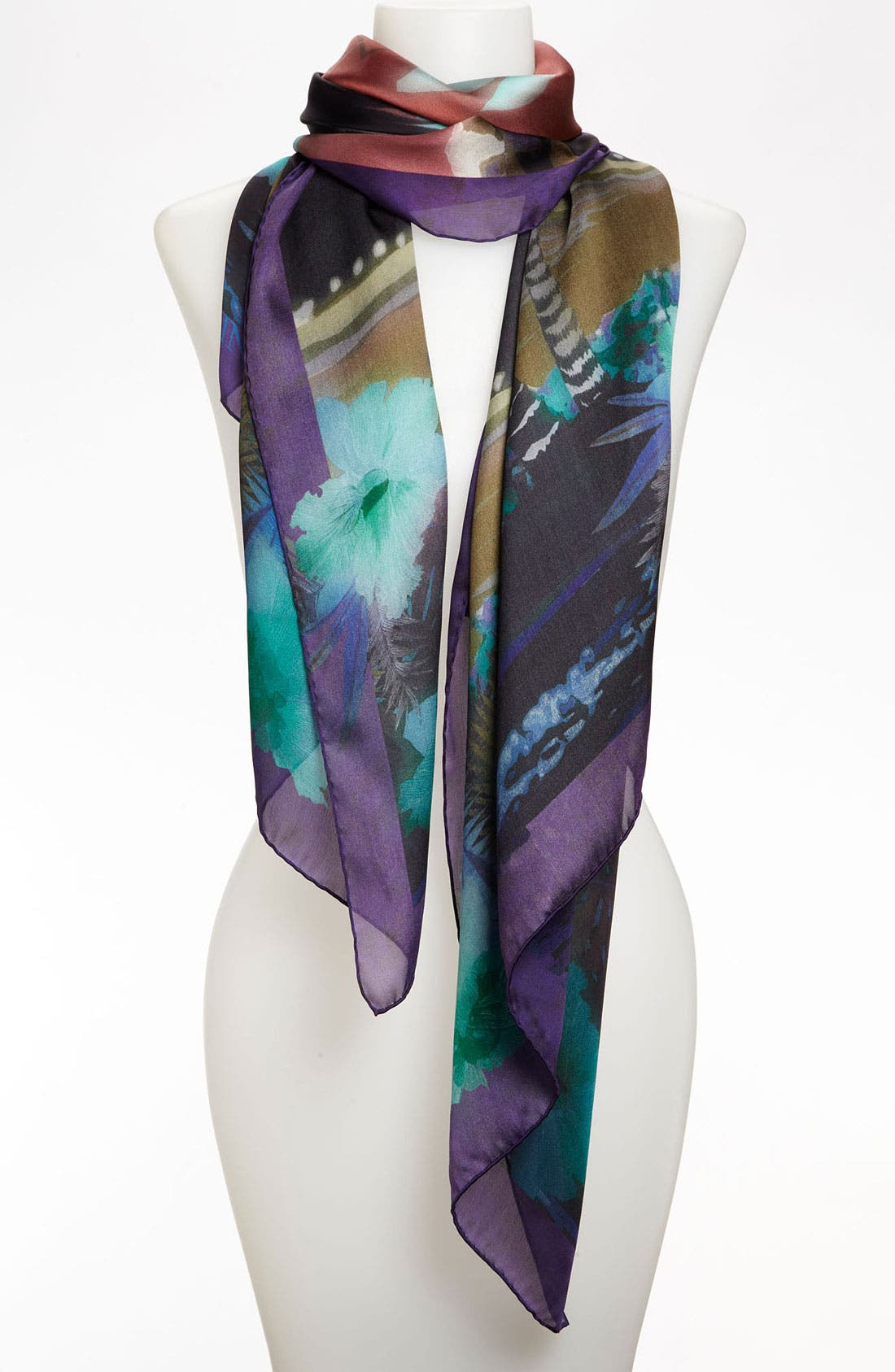 Alternate Image 1 Selected - Lanvin 'Palm' Silk Scarf