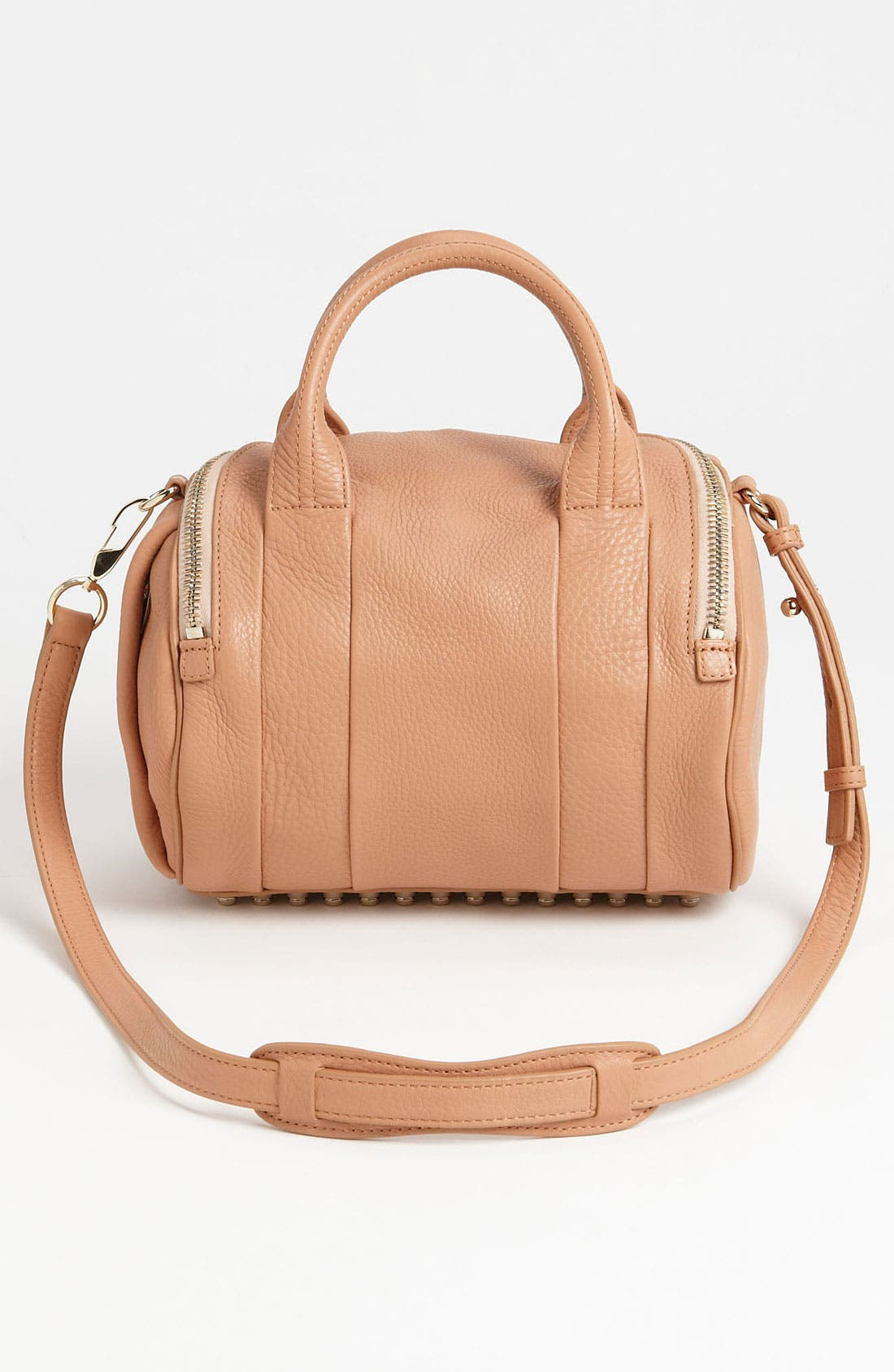 Alternate Image 4  - Alexander Wang 'Rockie - Pale Gold' Leather Crossbody Satchel