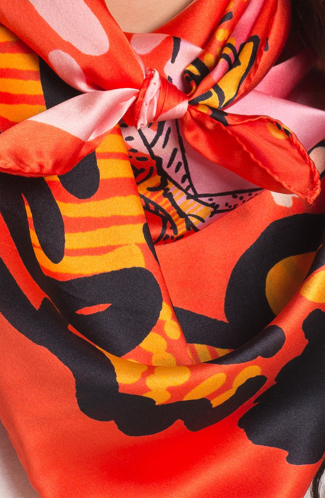 Alternate Image 2  - Sonia Rykiel 'Sketches' Print Silk Scarf