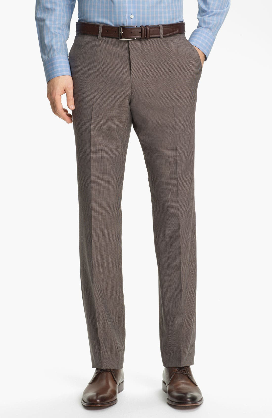Alternate Image 4  - BOSS HUGO BOSS 'The Sweet/Sharp' Trim Fit Houndstooth Suit