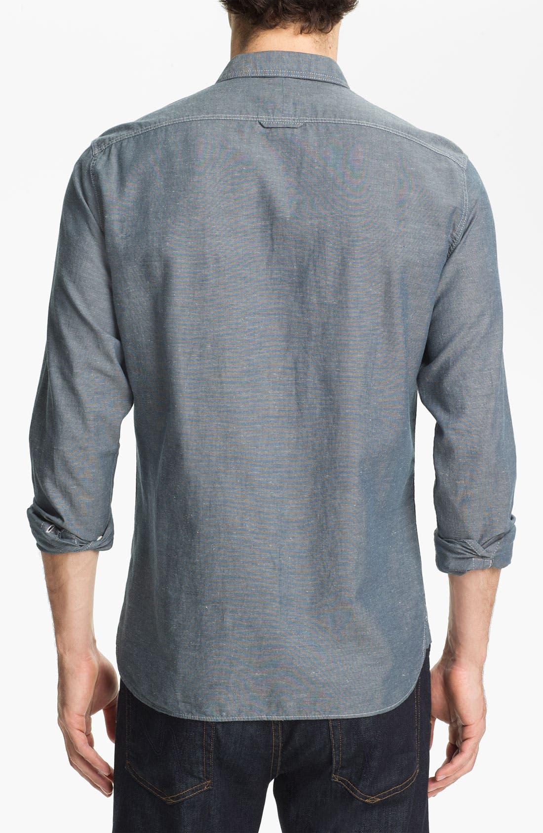 Alternate Image 2  - Burberry Brit Denim Sport Shirt