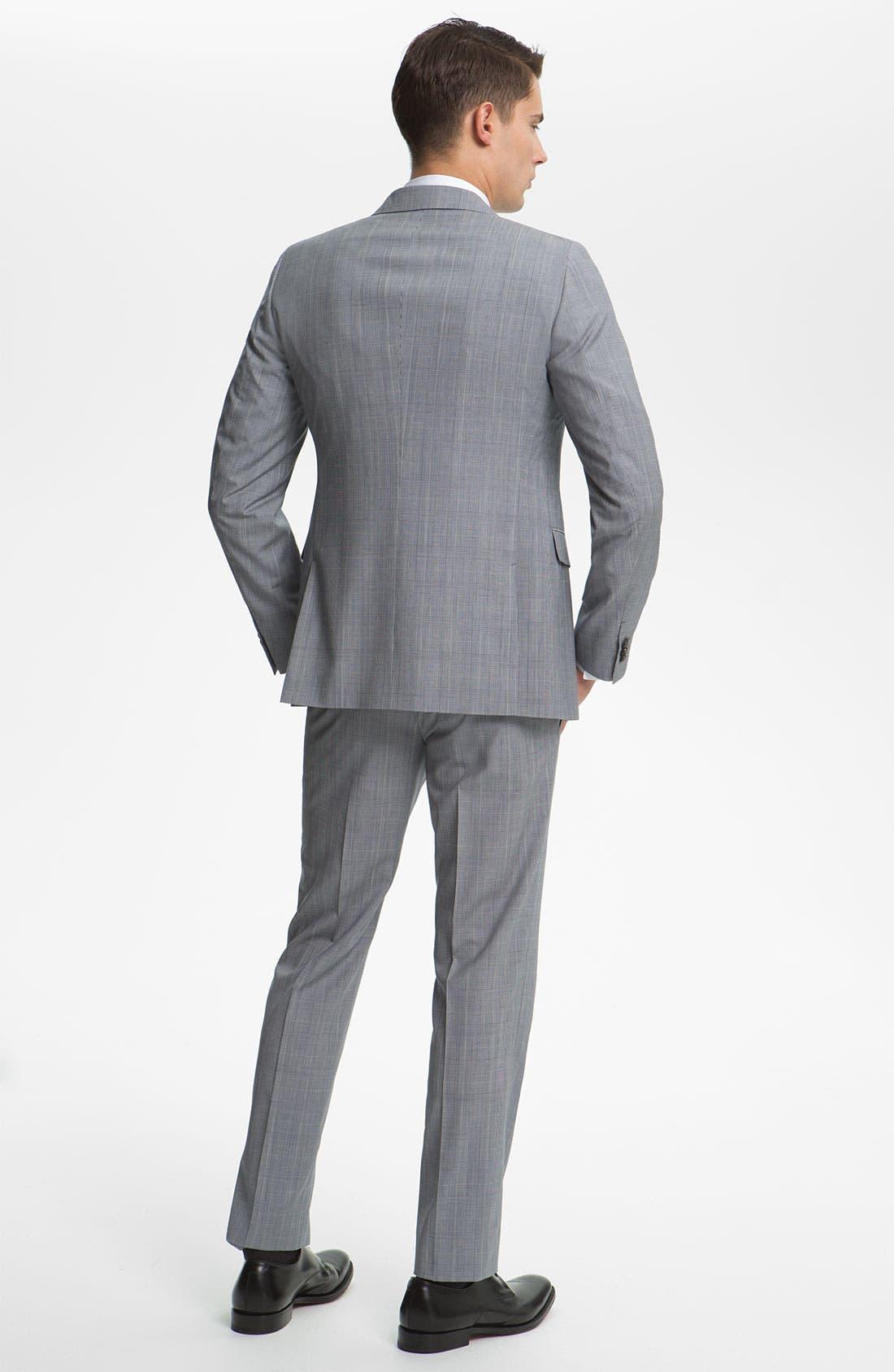 Alternate Image 3  - Jil Sander Glen Plaid Suit