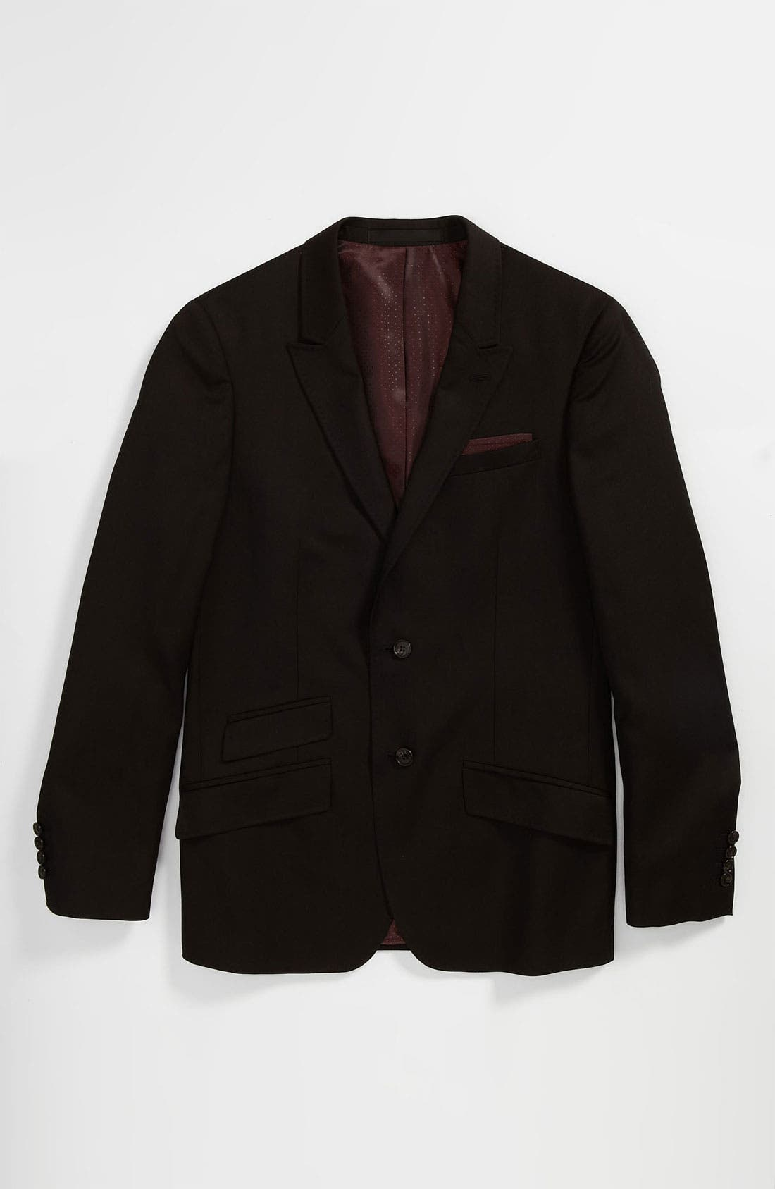 Alternate Image 1 Selected - Topman 'Super Premium - Russo' Trim Fit Blazer