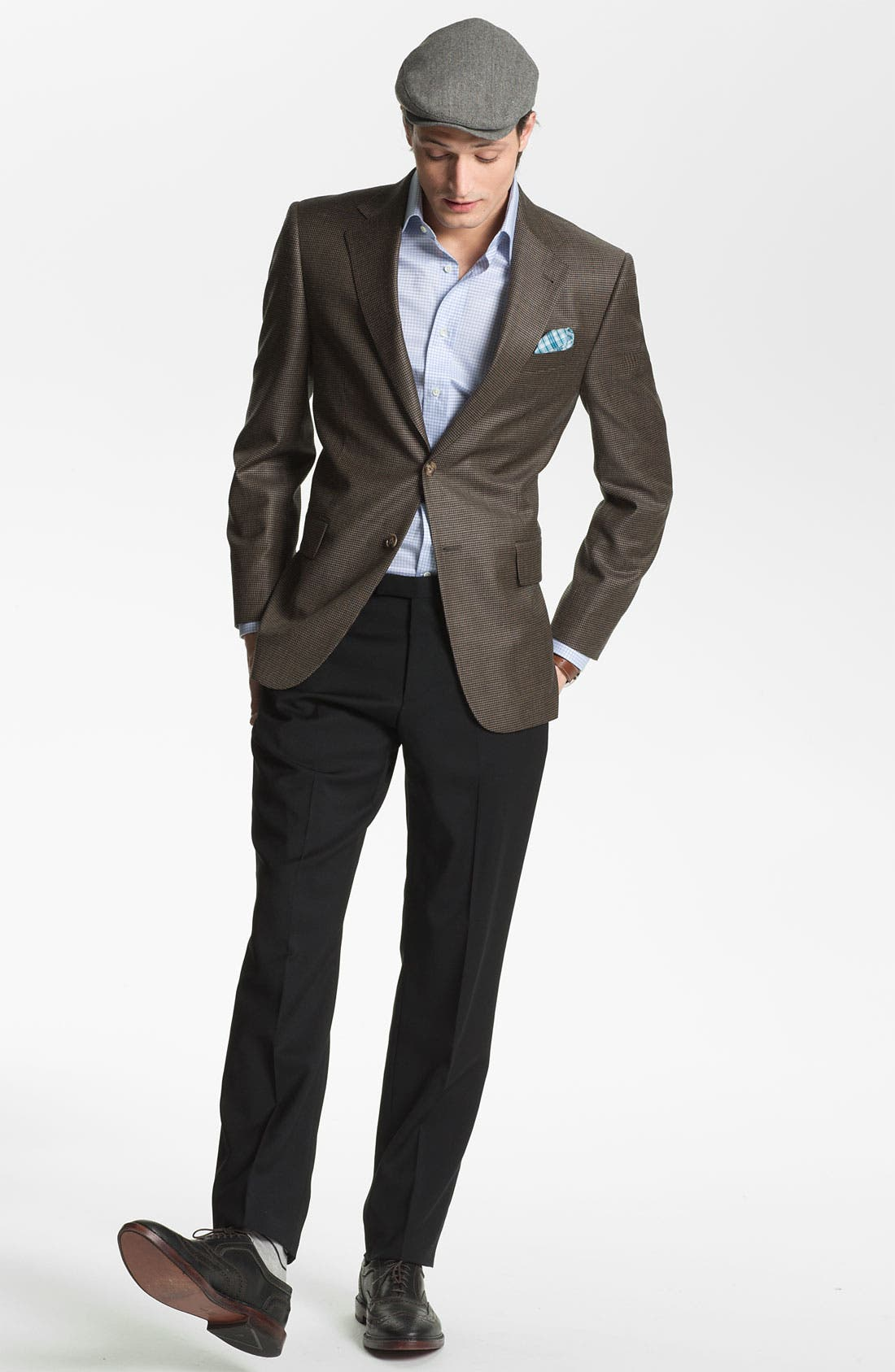 Alternate Image 2  - Canali Regular Fit Dress Shirt