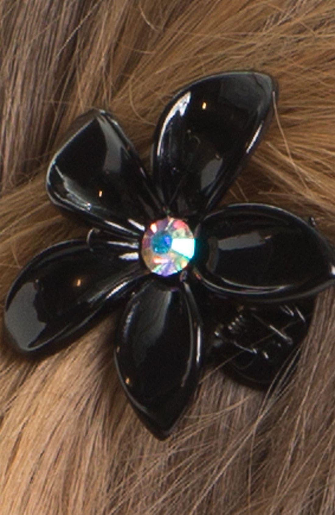 Alternate Image 2  - Cara Flower Hair Clip