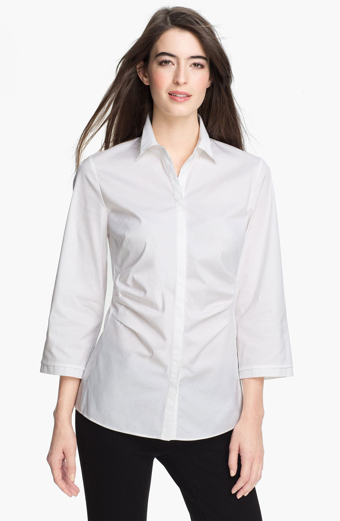 Main Image - Lafayette 148 New York 'Leigh' Blouse