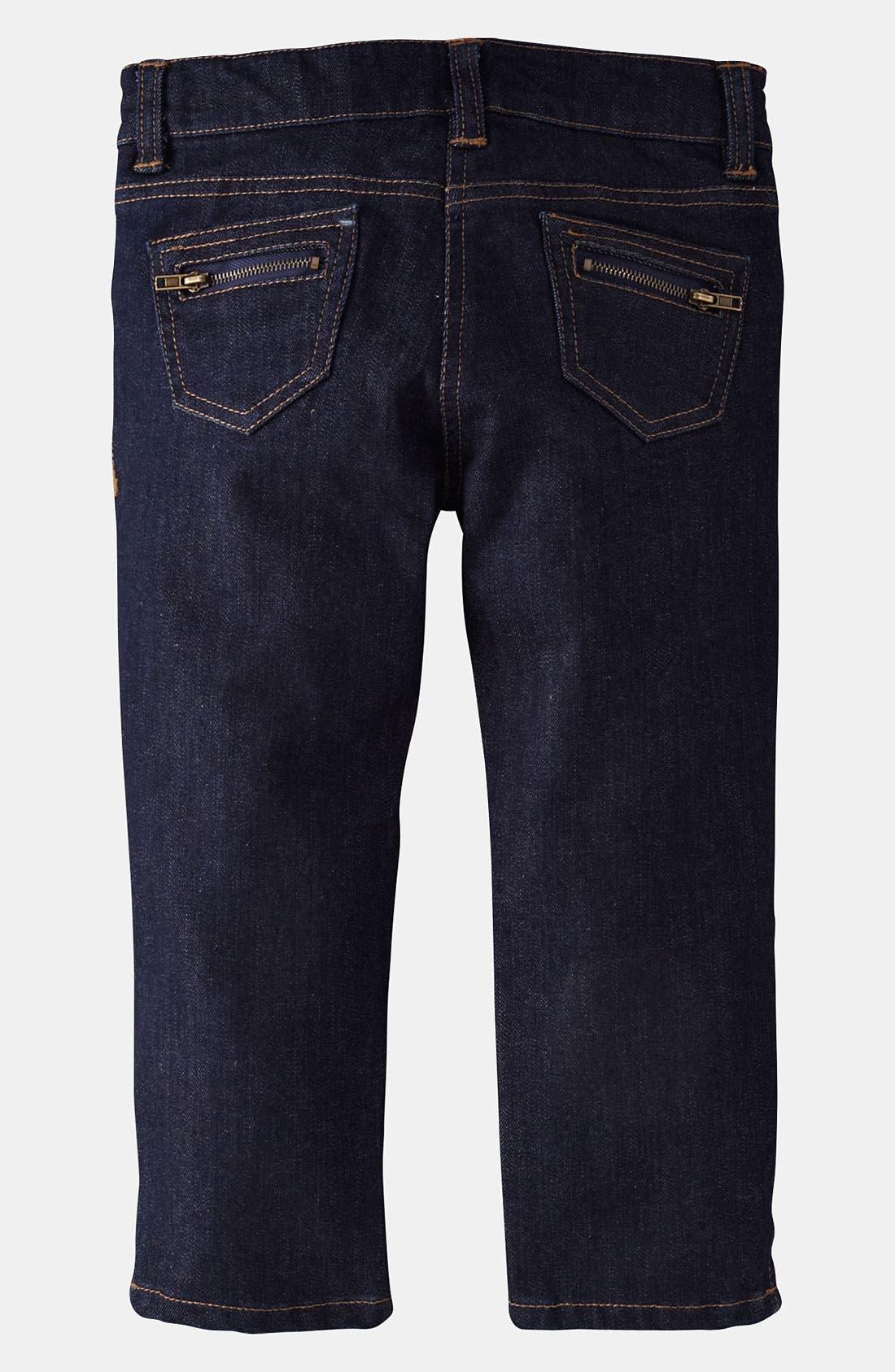 Alternate Image 2  - Mini Boden Capri Pants (Little Girls & Big Girls)