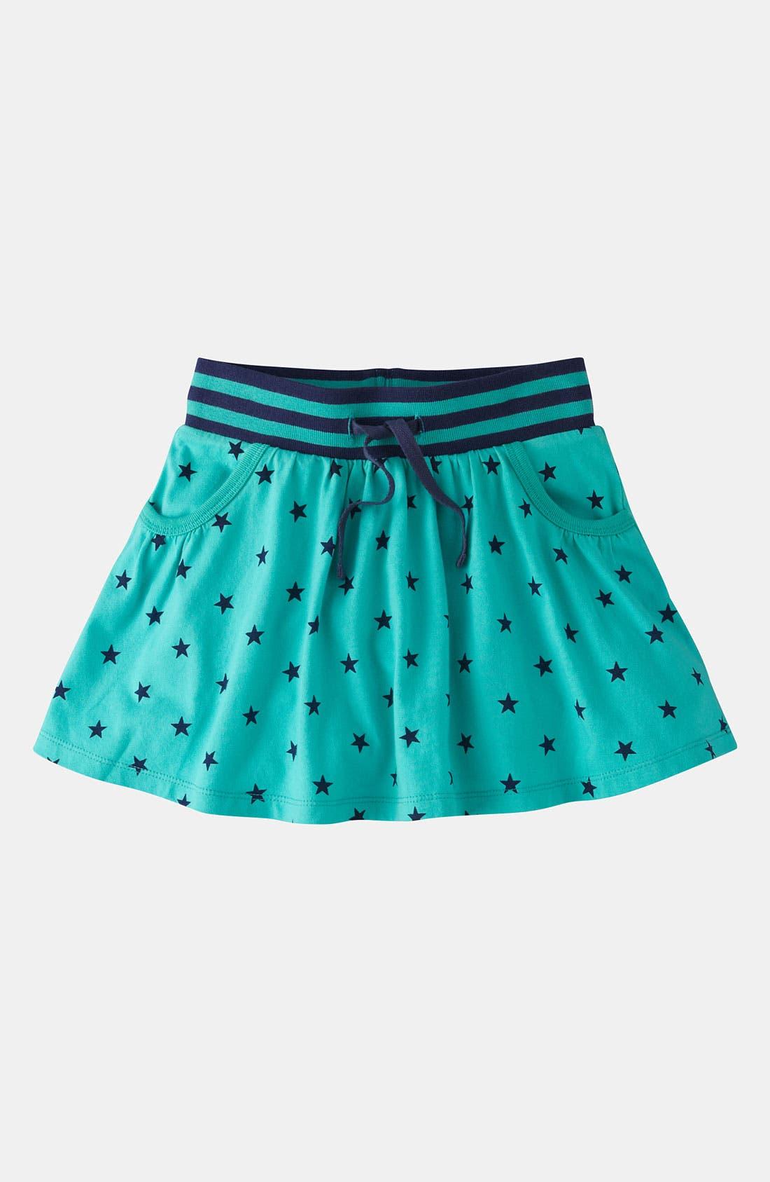 Main Image - Mini Boden Jersey Scooter Skirt (Little Girls & Big Girls)