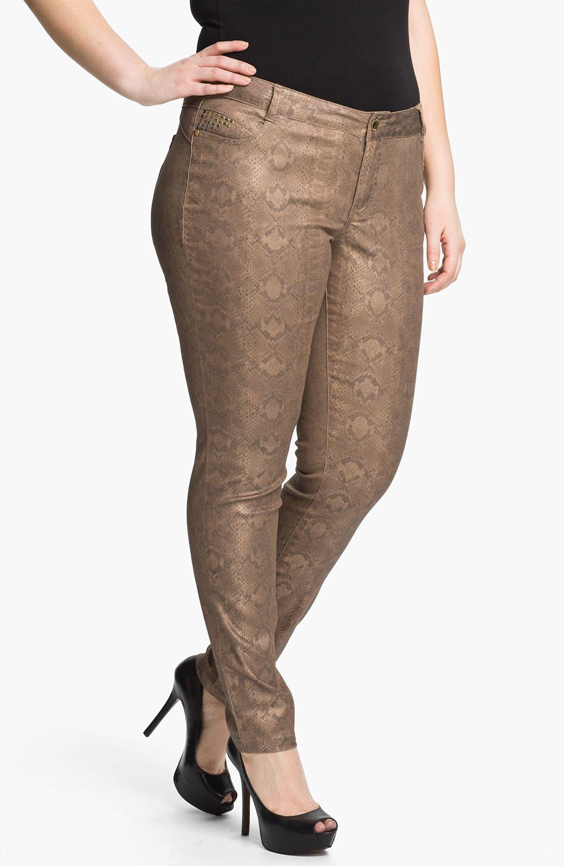 Main Image - Mynt 1792 'Murray Hill' Skinny Jeans (Plus)