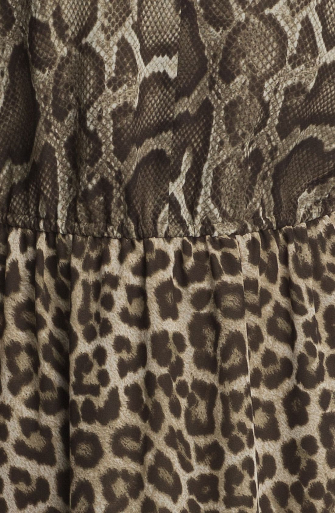 Alternate Image 3  - MICHAEL Michael Kors 'Mamba' Print Maxi Dress