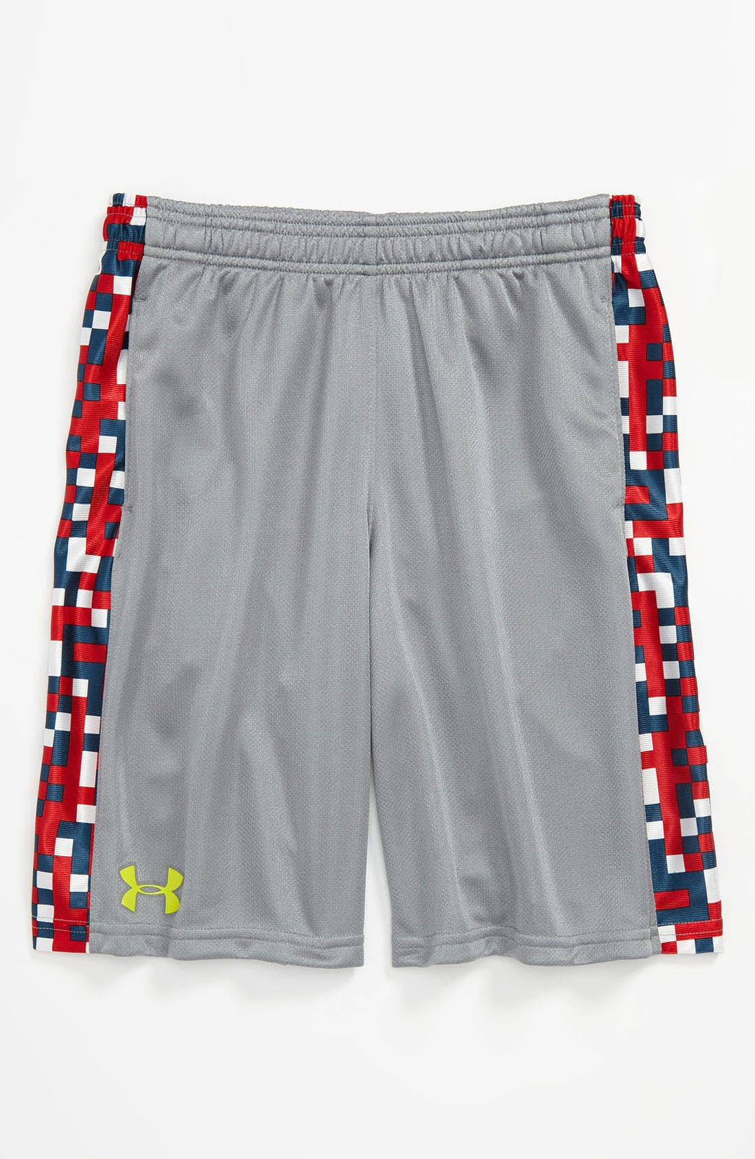 Alternate Image 1 Selected - Under Armour Print Shorts (Big Boys)
