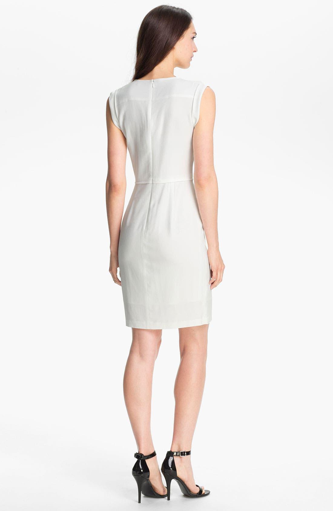 Alternate Image 2  - Theory 'Nev' Stretch Knit Sheath Dress