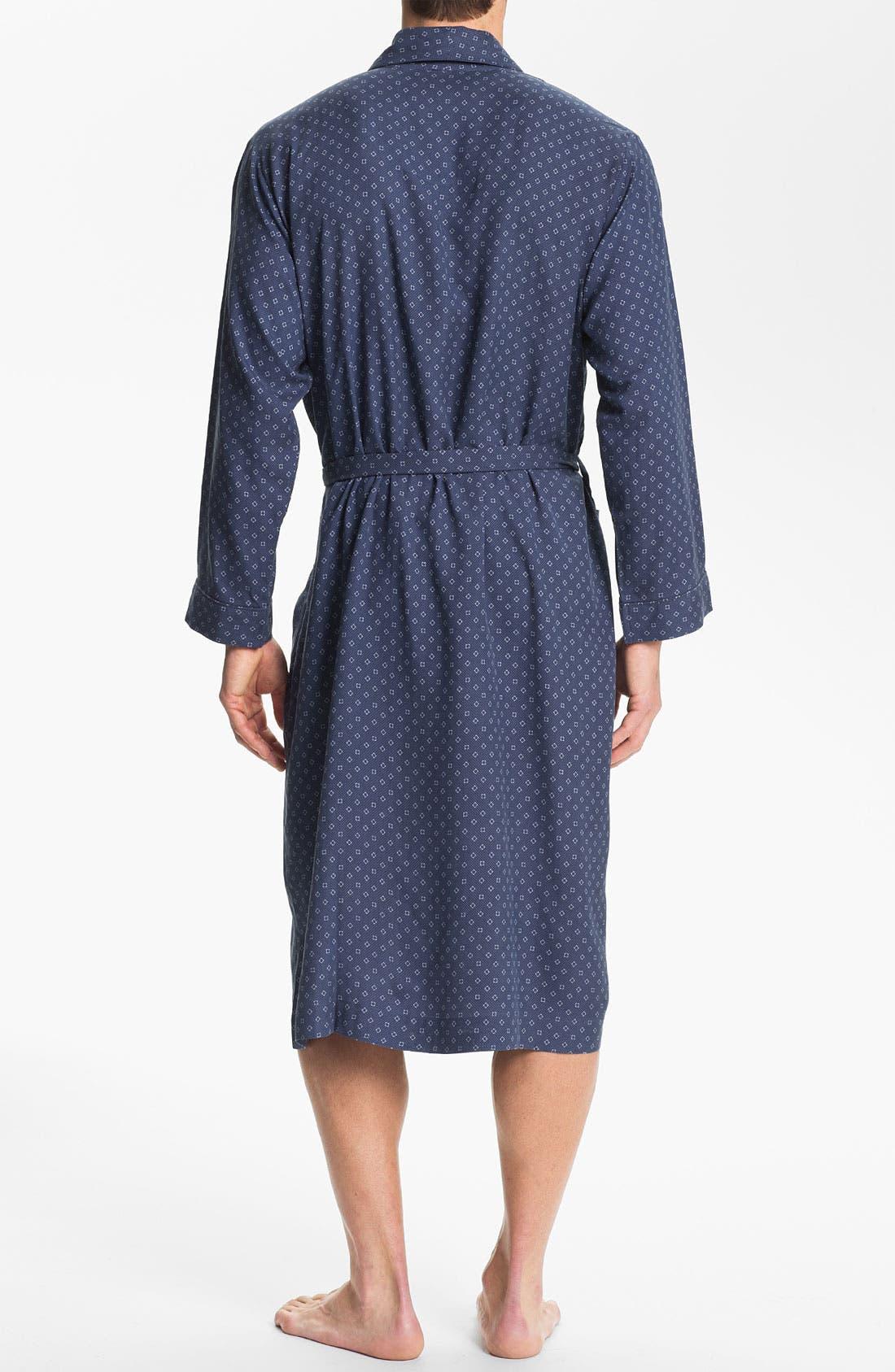 Alternate Image 2  - Majestic International 'Patrician' Silk Robe