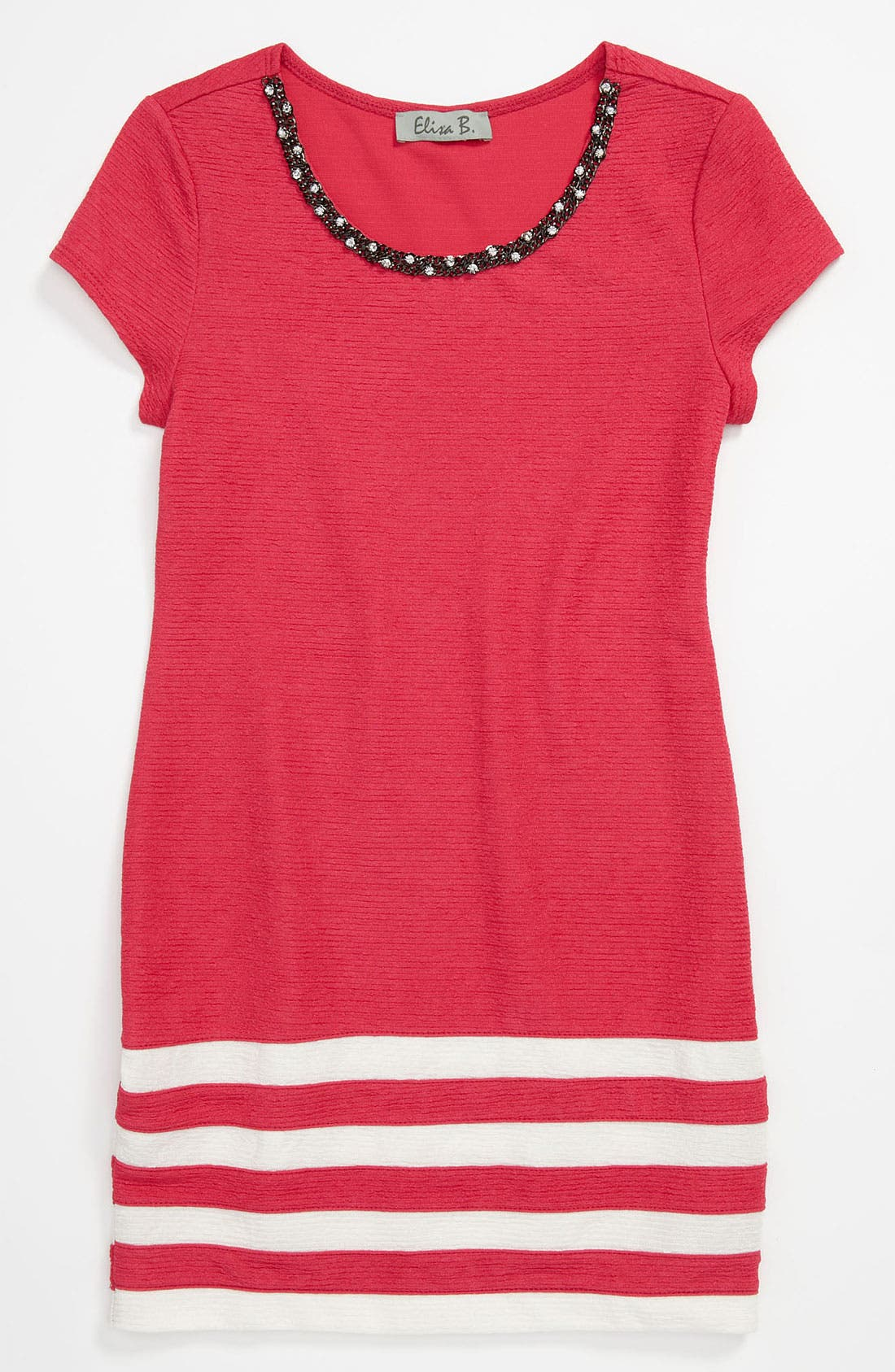 Main Image - Elisa B Knit Dress (Big Girls)
