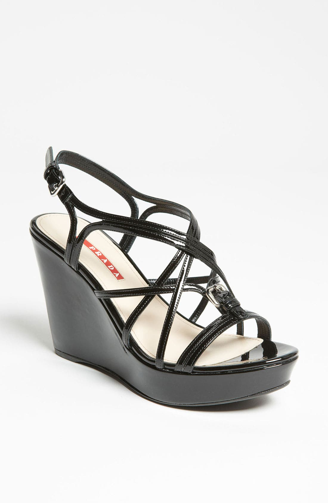 Alternate Image 1 Selected - Prada Wedge Sandal