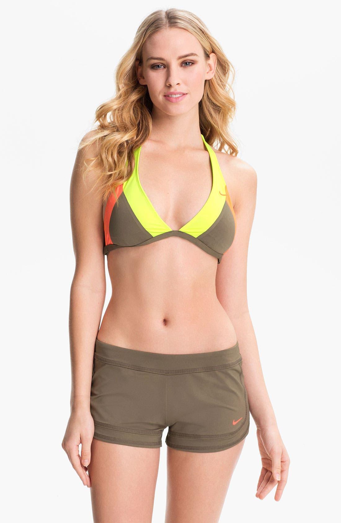 Alternate Image 3  - Nike 'Bondi' Halter Bikini Top