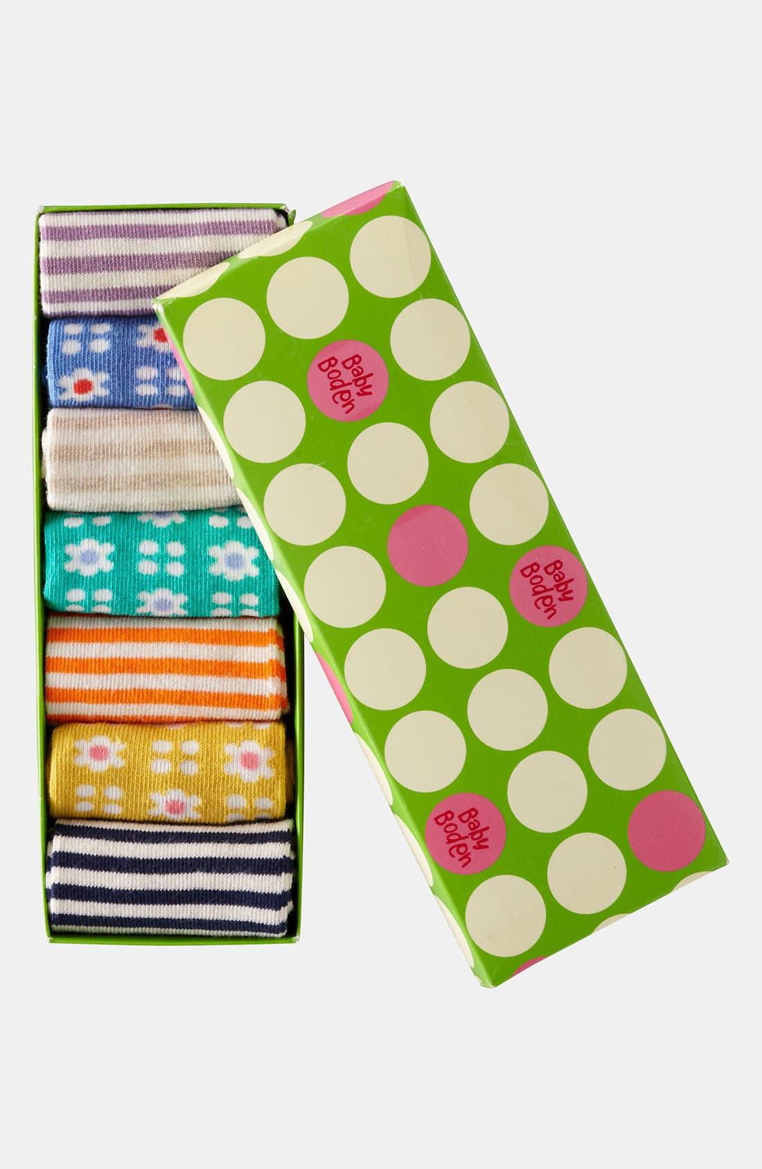 Alternate Image 2  - Mini Boden Socks (7-Pack) (Little Girls & Big Girls)