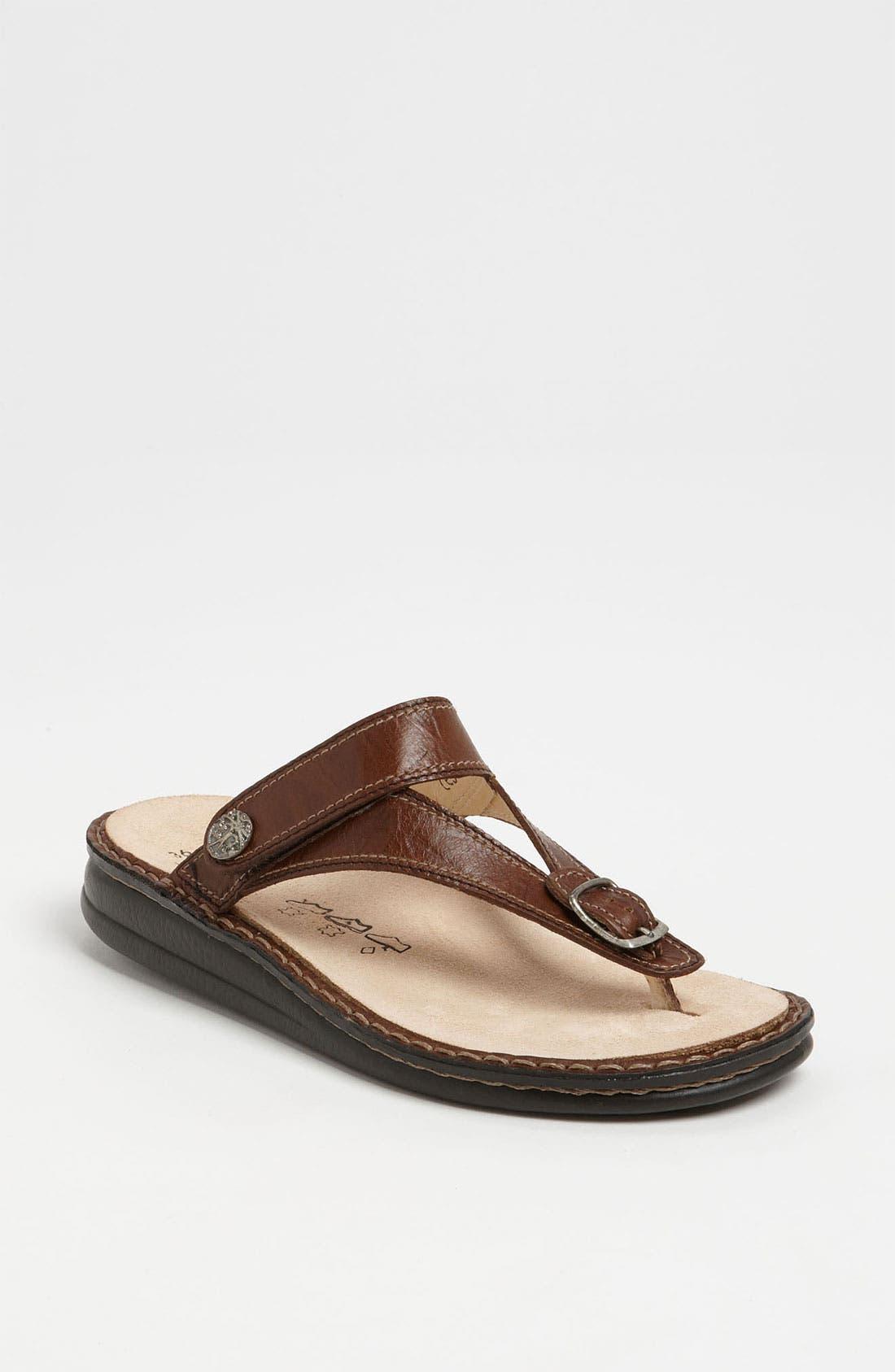 Main Image - Finn Comfort 'Alexandria' Thong Sandal