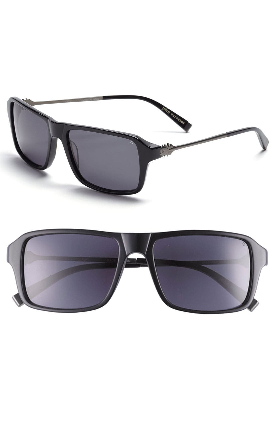 Main Image - John Varvatos Collection 58mm Sunglasses
