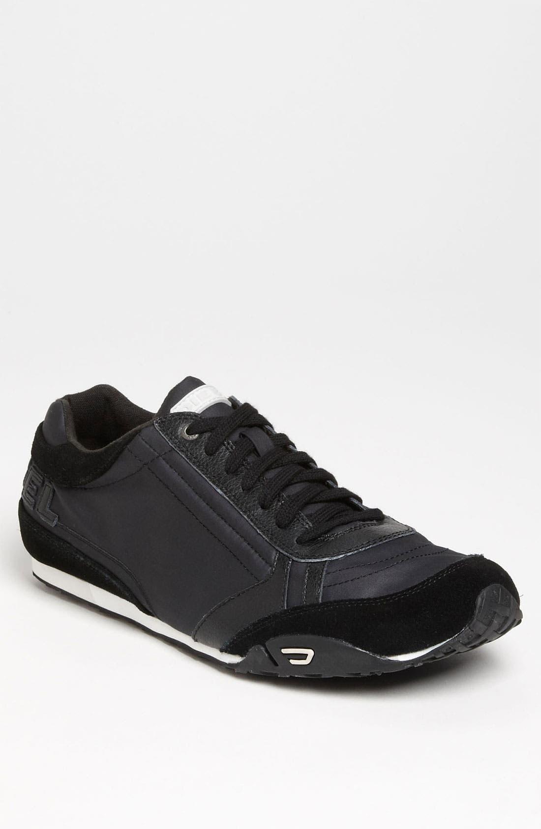Alternate Image 1 Selected - DIESEL® 'Take' Leather Sneaker