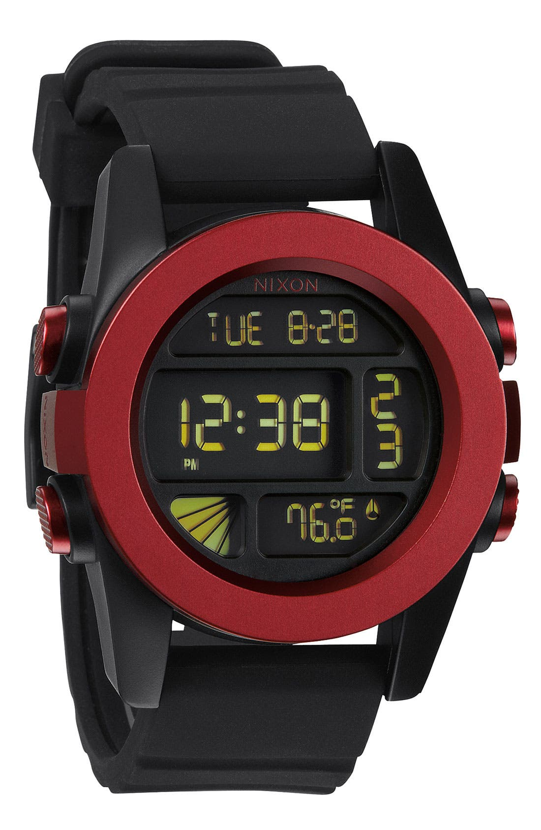 Main Image - Nixon 'The Anodaze Unit' Digital Watch, 49mm