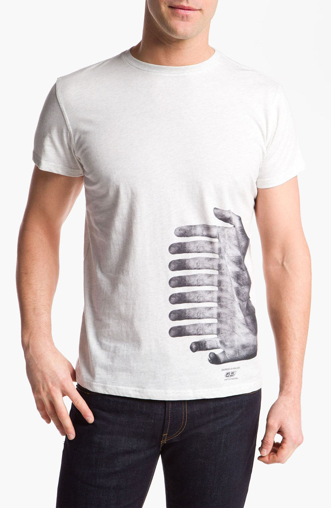 Alternate Image 1 Selected - 55DSL 'Girogio di Salva' Graphic T-Shirt