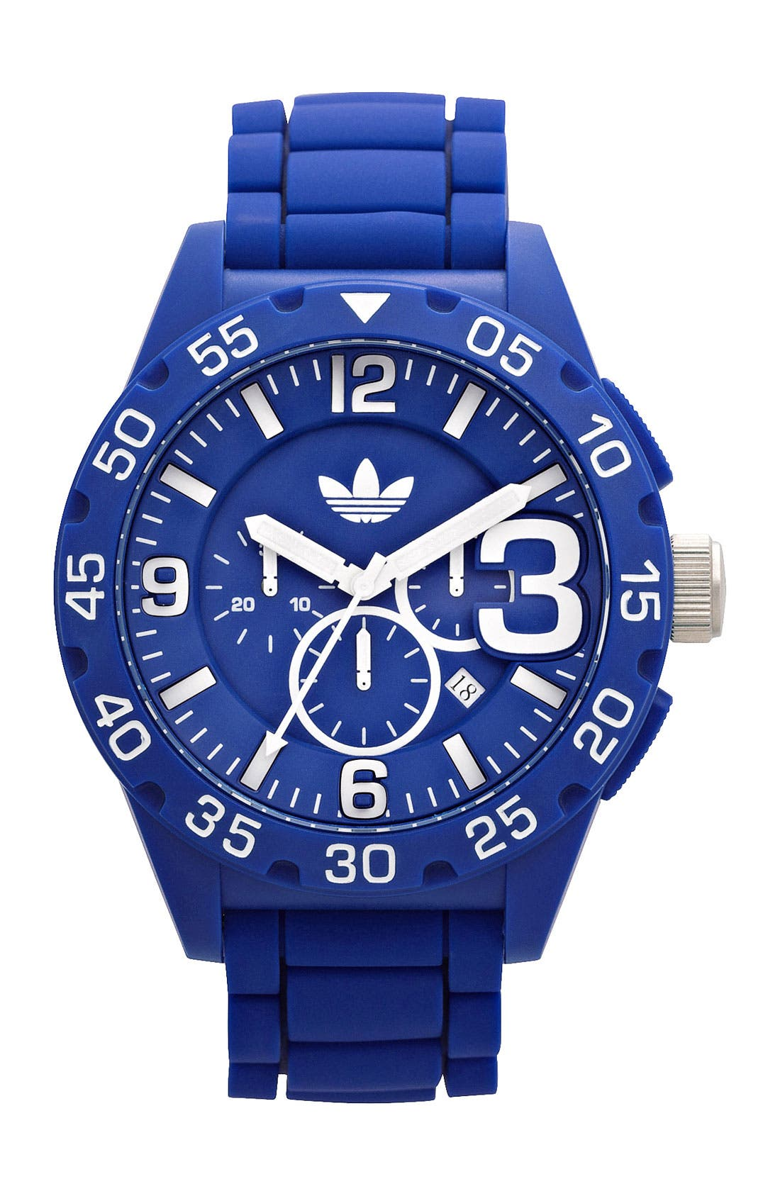 Alternate Image 1 Selected - adidas Originals 'Newburgh' Chronograph Watch, 48mm