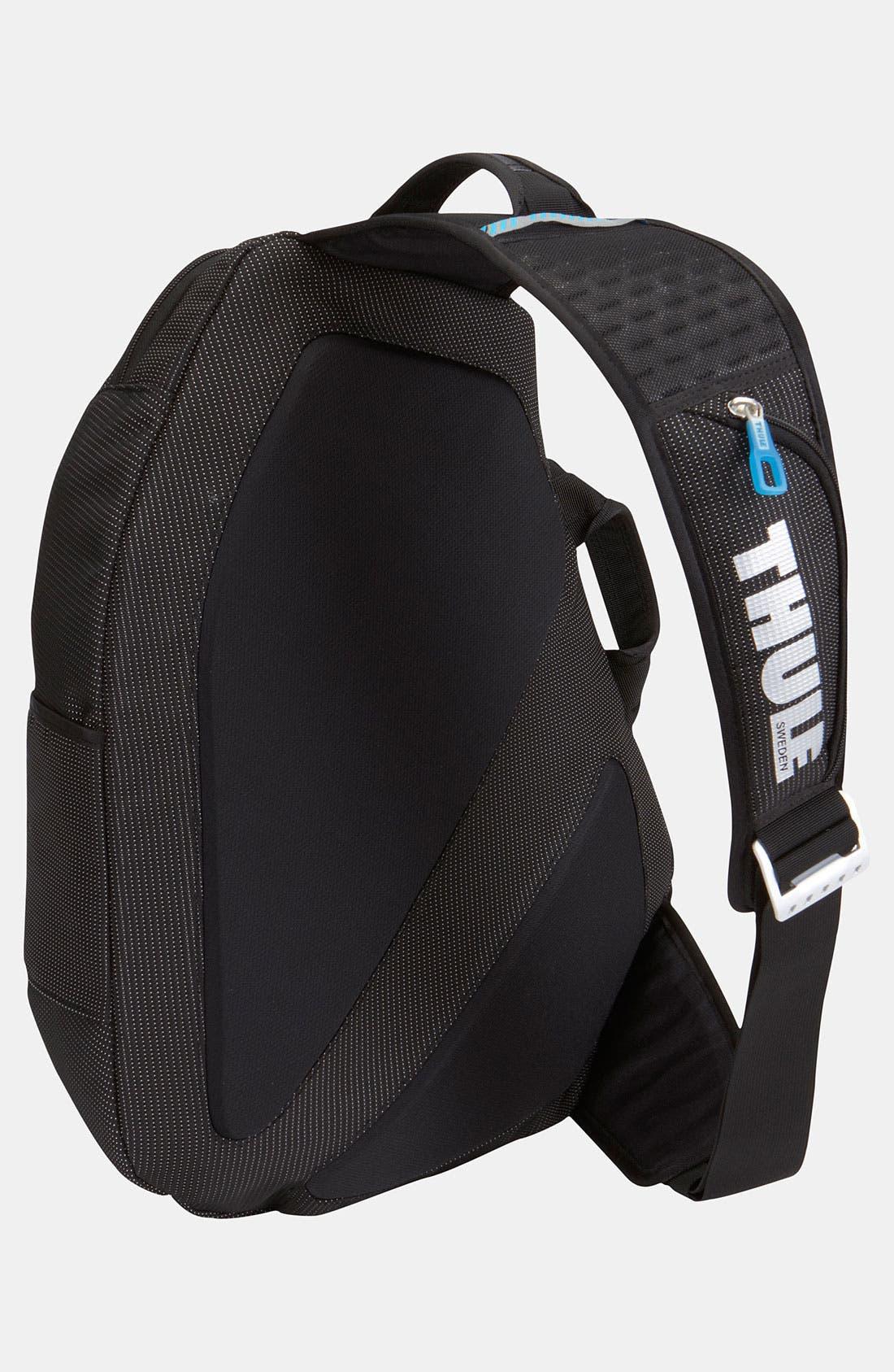 'Crossover' Sling Backpack,                             Alternate thumbnail 2, color,                             Black