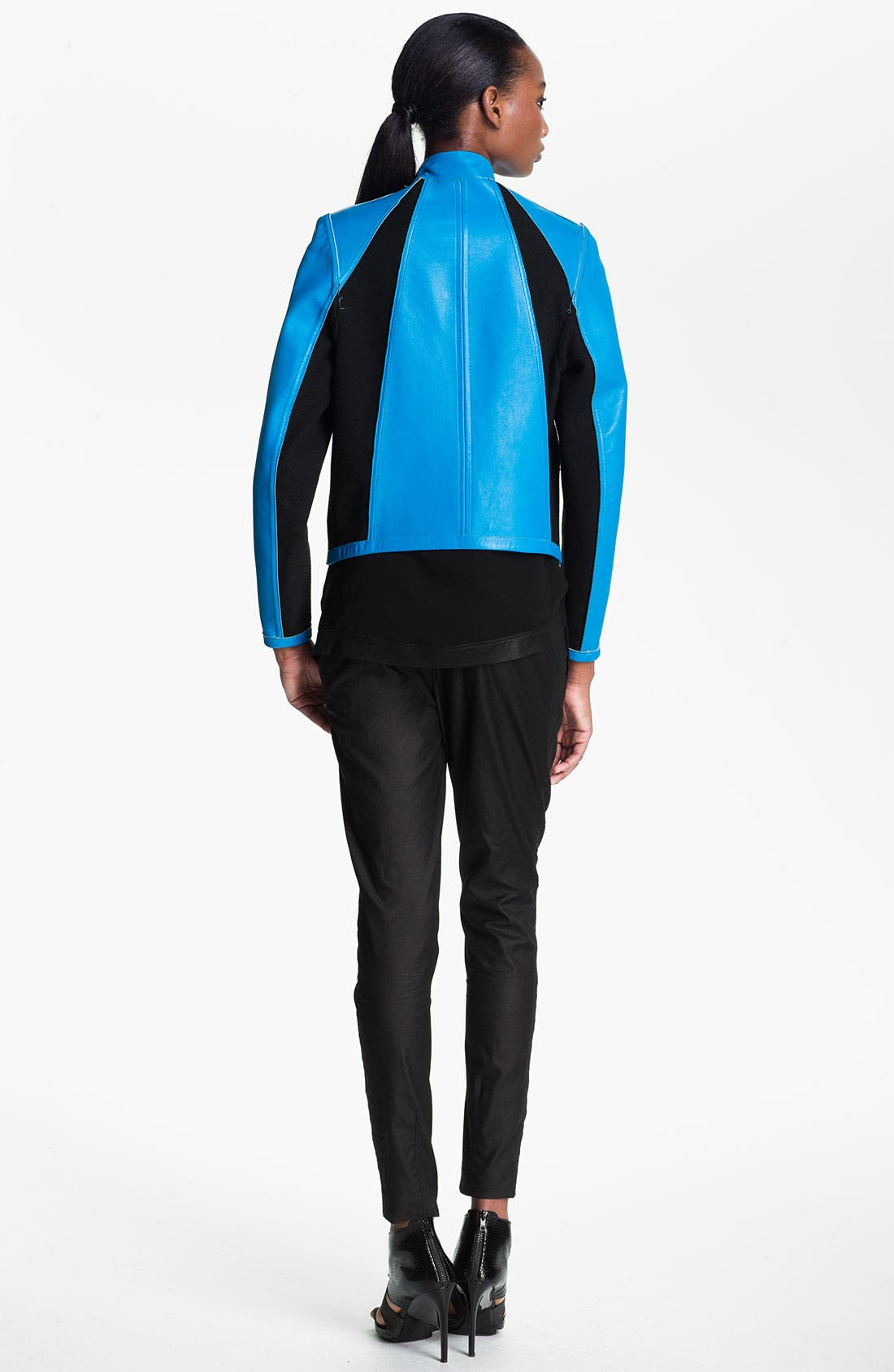 Alternate Image 4  - Helmut Lang Reversible Leather Jacket