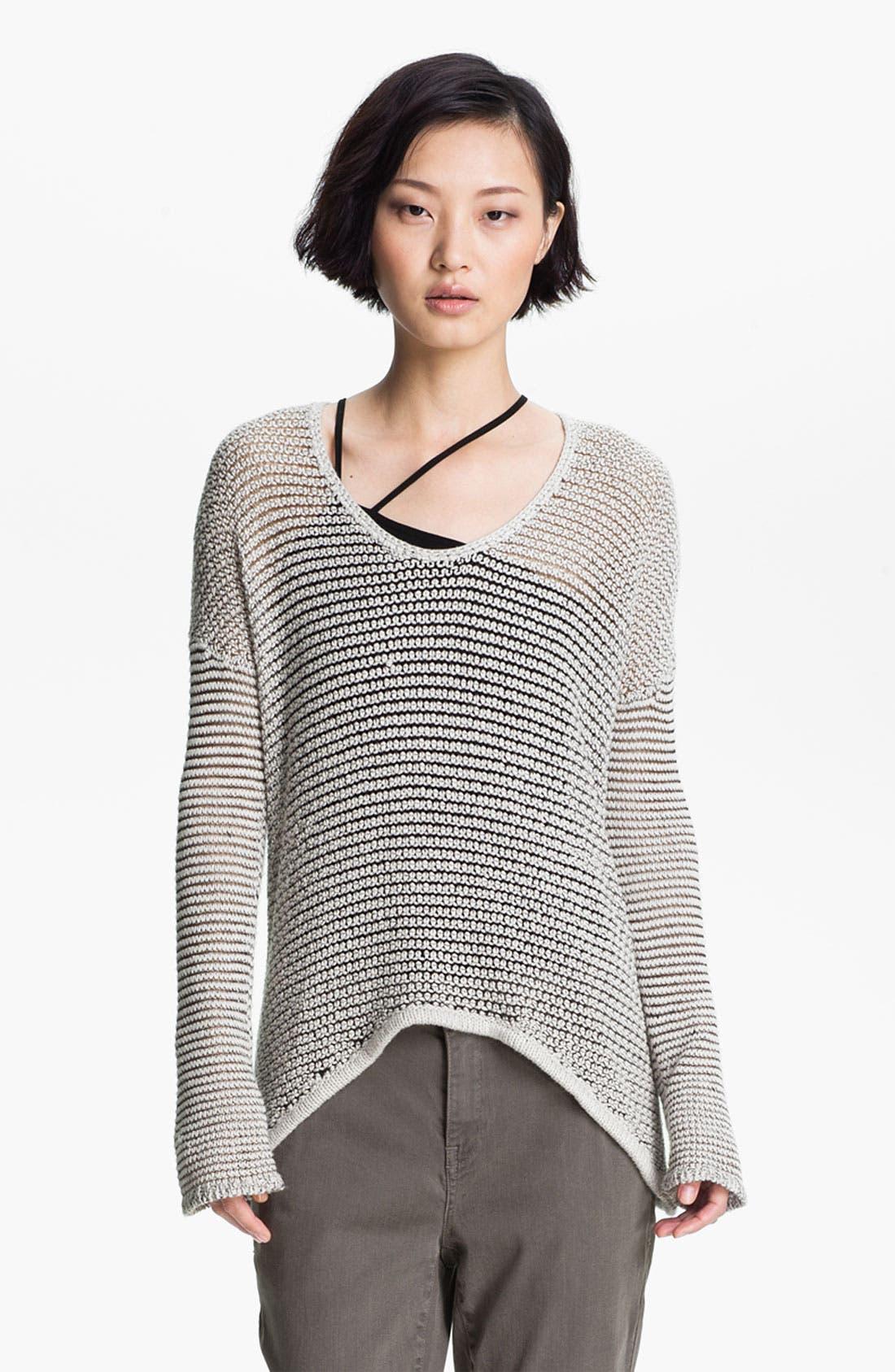 Main Image - HELMUT Helmut Lang Open Knit Sweater