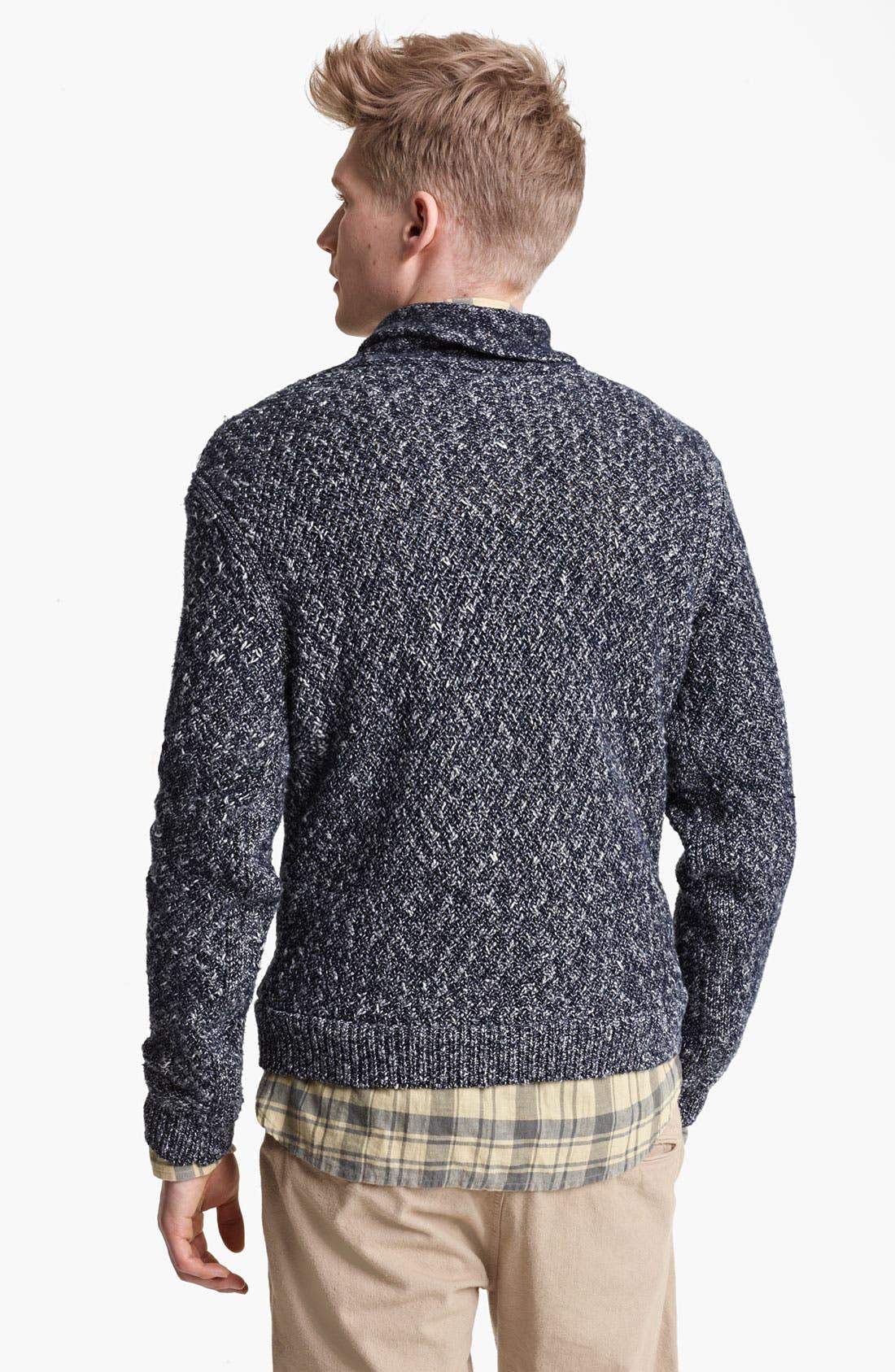 Alternate Image 2  - rag & bone 'Alturas' Shawl Collar Sweater