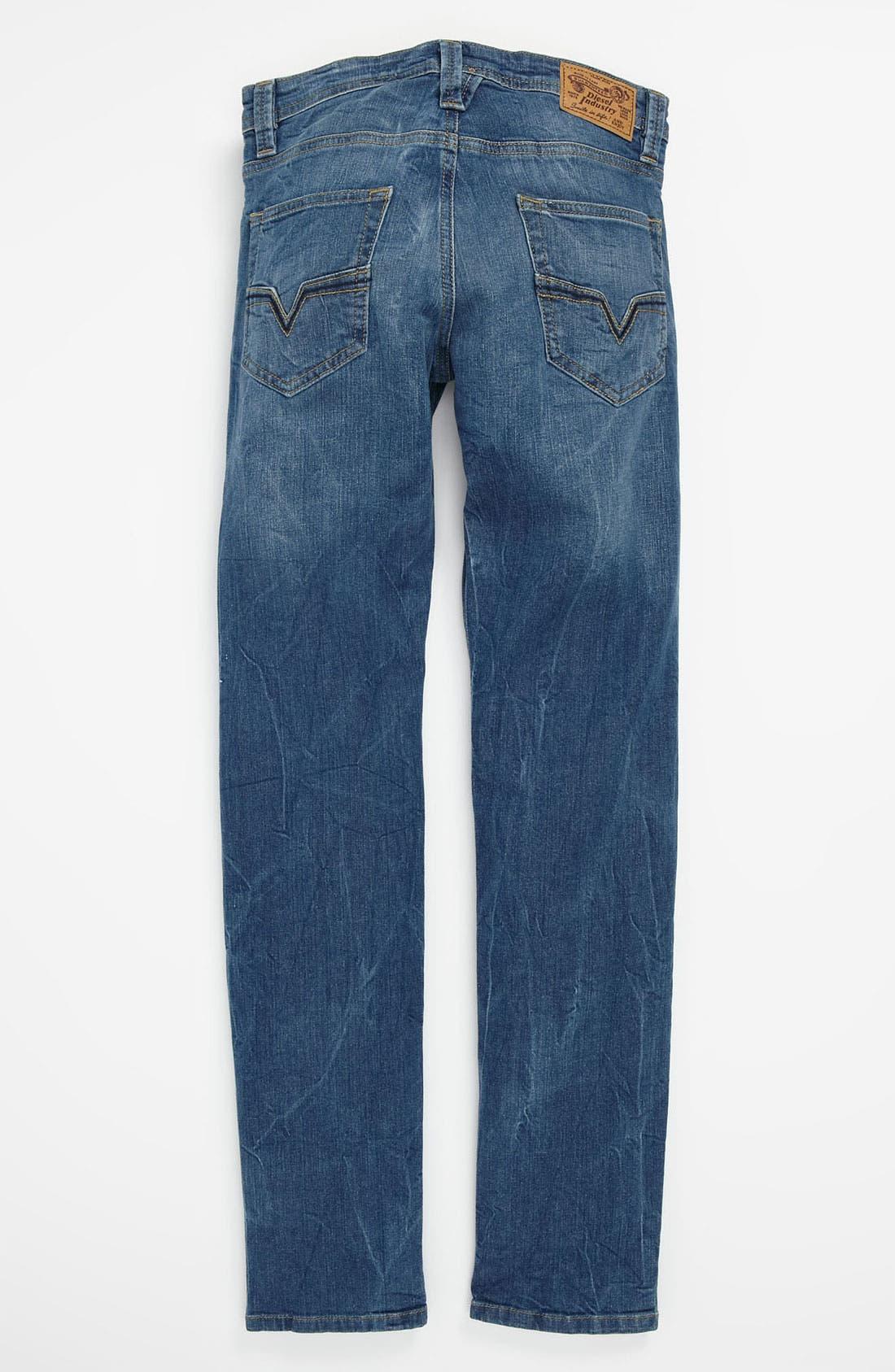 Alternate Image 1 Selected - DIESEL® 'Larkee' Jeans (Big Boys)