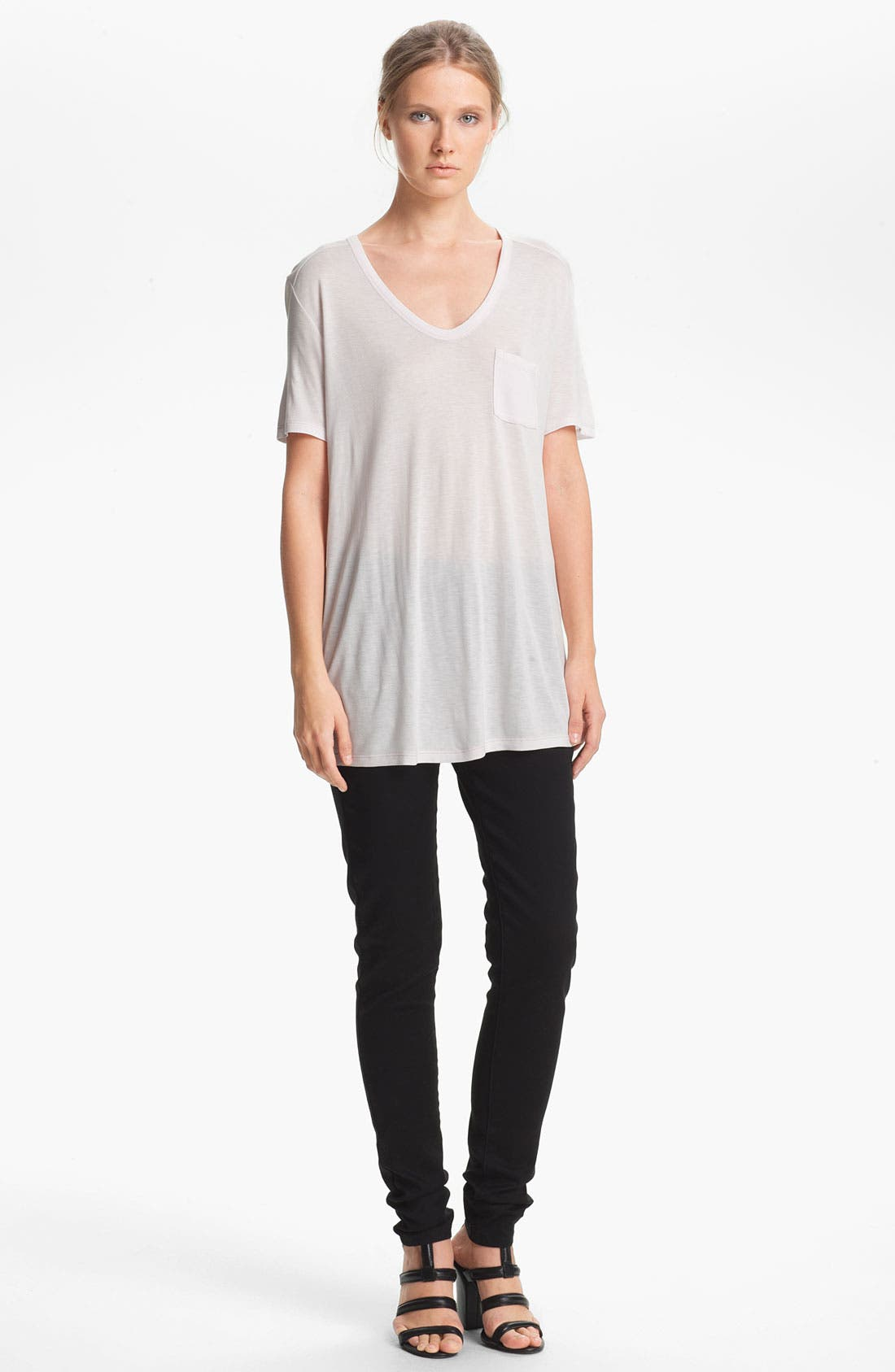 Alternate Image 1 Selected - T by Alexander Wang Classic Pocket Tee