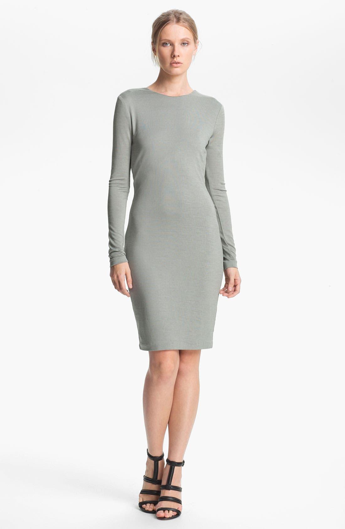 Alternate Image 1 Selected - T by Alexander Wang Drape Back Jersey Dress